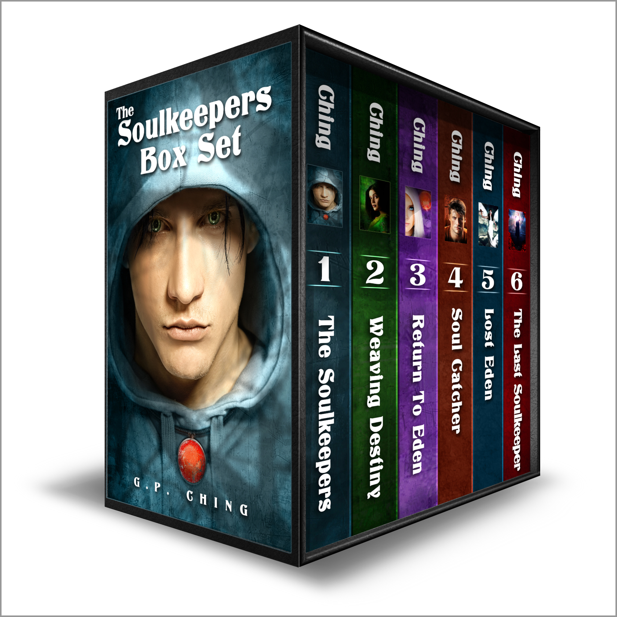 The Soulkeepers Box Set